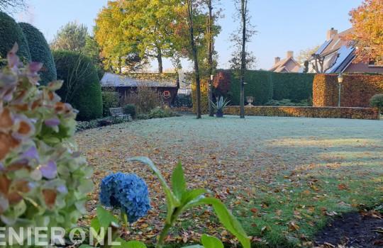 Najaar....Geef de tuin nog een ronde speciale herfst/wintervoeding
